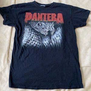 Vintage Pantera Concert Tour T-shirt Med Has Holes